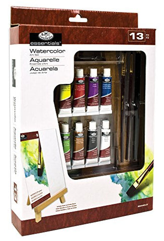 "ROYAL BRUSH REA5405 13 Piece Easel Art Watercolor ""A"" Set"