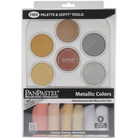 Colorfin PanPastel Metallics Kit by Colorfin