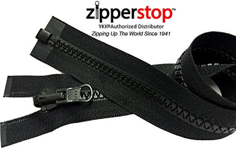 ZipperStop Wholesale YKK® - Vislon Jacket Zipper Reversible Slide YKK® #5 Molded Plastic Separating