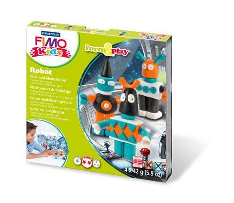 Staedtler 8034 03 LY Fimo kids Form & Play, Play Robot