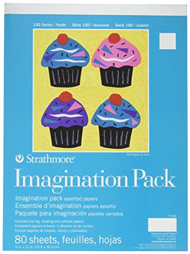 Strathmore Paper 27-608 100 Series Youth Imagination Pack