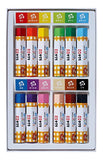 12 square pastel crayon colors you can drop by Sakura Color water (japan import)