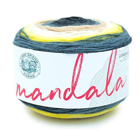 Lion Brand Yarn 525-206 Mandala Yarn, Serpent