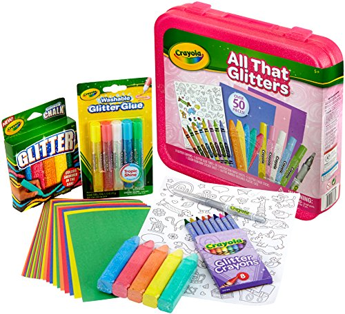 Crayola All That Glitters Art Case Toy