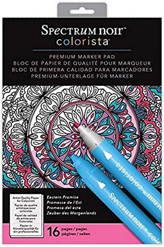Colorista by Spectrum Noir A4 Marker Pad, Eastern Promise