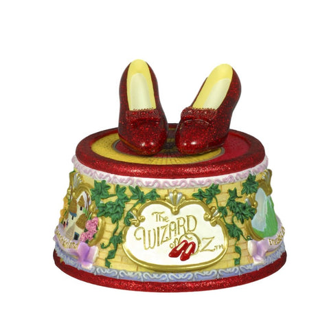 The Wizard of Oz Ruby Slippers Click Figurine San Francisco Music Box