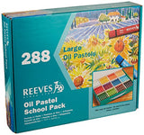 Reeves 288 Large Oil Pastels School Pack