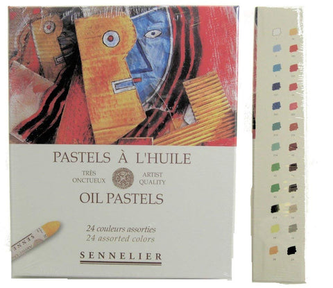 Sennelier Oil Pastel Assorted Set of 24