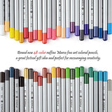 Marco Raffine Fine 48 Art Coloured Pencils +Eraser +pencil extender painting tools with Roll UP