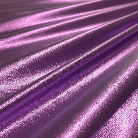 Tissue Lame Shiny Fabric for Craft Decoration Costume Design 44 FWD (Violet)