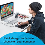 Wacom Intuos Art Pen and Touch digital graphics, drawing & painting tablet: New Version (CTH490AB)