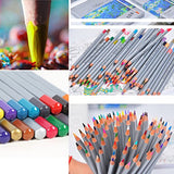 72 Colored Pencils,Art Pencil For Drawing,Artist Sketching Set,Drawing Colored Pencils Set,Oil Base