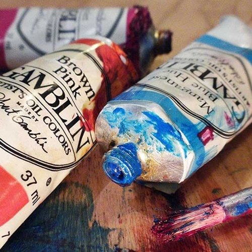 Gamblin Artist Oil Color - Flake White Replacement - 150 ml Tube