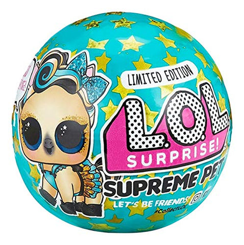 L.O.L. Surprise! Supreme Pet Exclusive Limited Edition Luxe Bling Pony