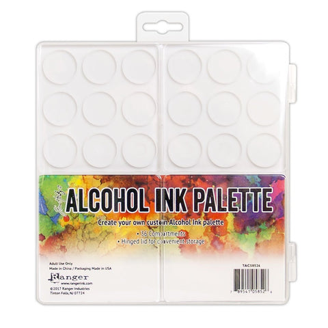 Ranger TAC58526 Tim Holtz Alcohol Ink Palette, Multicolor