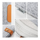 Parblo 10x 7.5inch PR-10 Wool Liner Bag Sleeve Case Cover Carrying Bag for Drawing Graphic