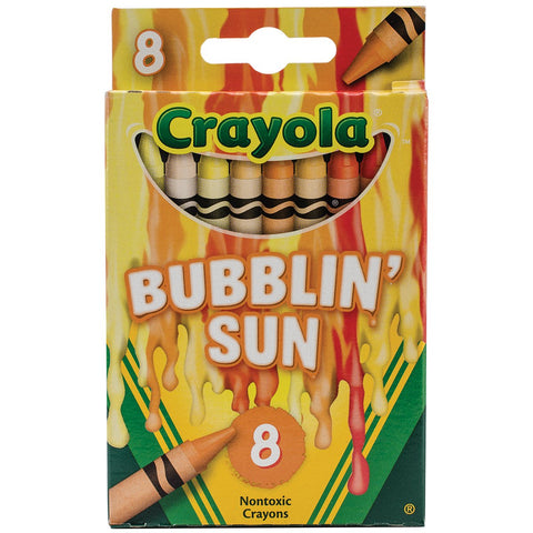 Crayola Meltdown Crayons (8 Pack), Bubblin Sun