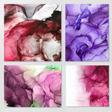 Jacquard Pinata Color Exciter Pack Alcohol Ink Bundle with Alcohol Blending Solution, Pixiss Blending Tools and Pixiss 9x12 Inch Alcohol Ink Paper