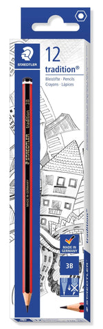 STAEDTLER Tradition Pencil 3B 110-3B