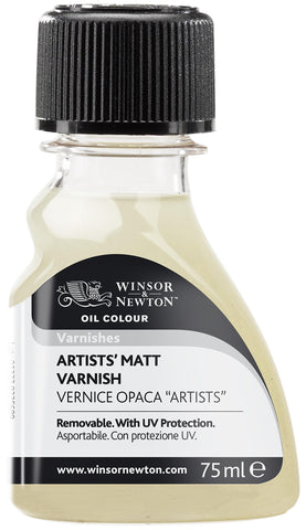 Winsor & Newton Artists' Matt Varnish, 75ml, Clear