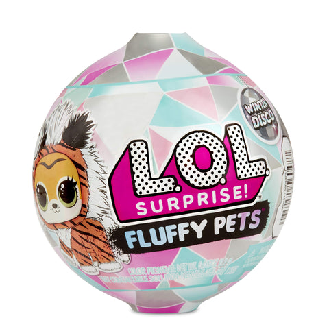 L.O.L Surprise! Fluffy Pets Winter Disco Series with Removable Fur