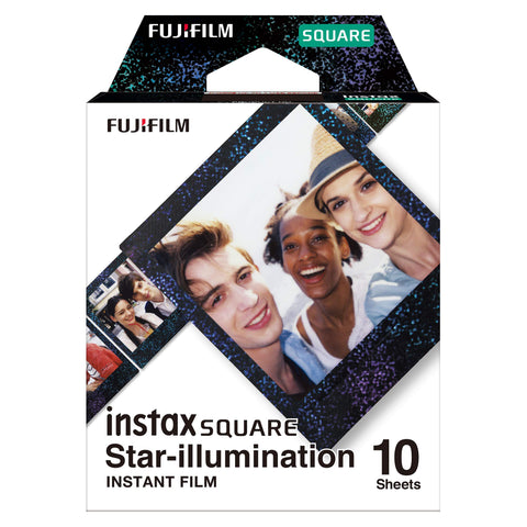 Fujifilm Instax Square Film, Star Illumination (10 Exposures)