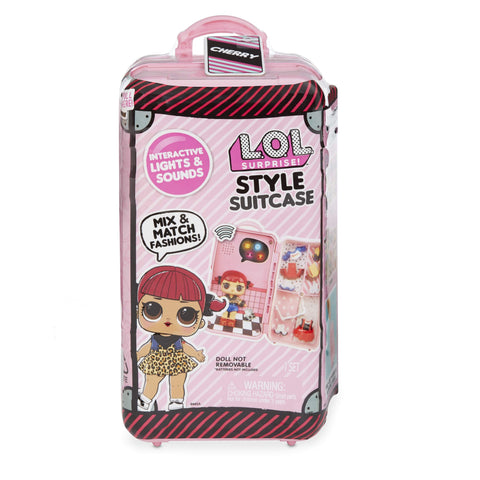 L.O.L. Surprise! Style Suitcase Electronic Playset - Cherry