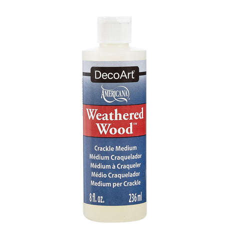 DecoArt Americana Mediums, 8-Ounce, Weathered Wood