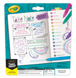 Crayola Take Note Medium Point Washable Gel Pens Set, Age 6+ - 14 Count