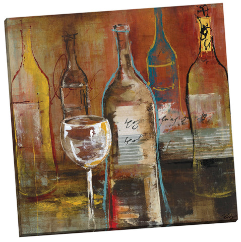 "Portfolio Canvas Decor ""Wine Cellar II by Bridges Wrapped/Stretched Canvas Wall Art, 24 x 24"