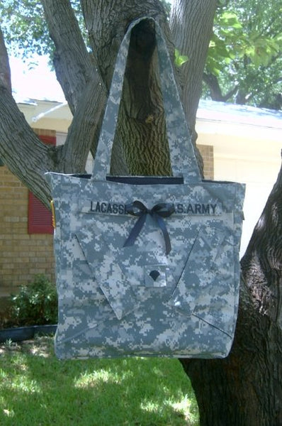 Military pride  tote bag