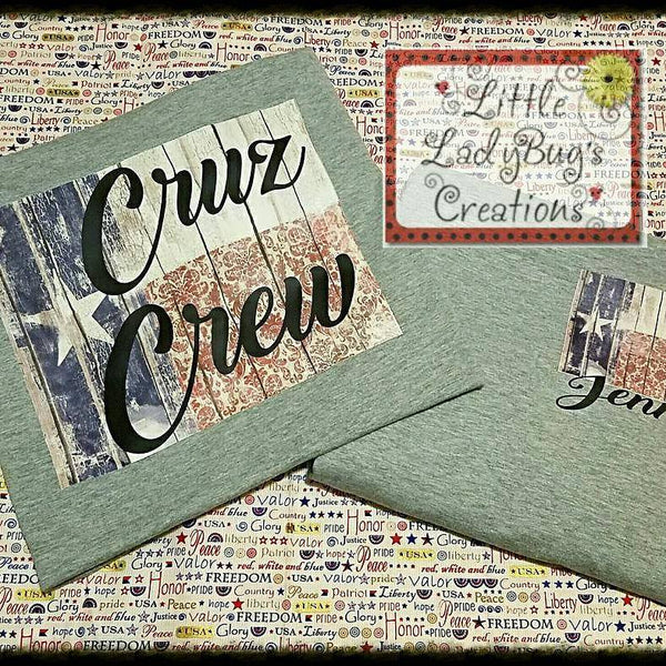 Texas Cruz Crew Tshirt
