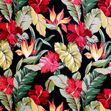 Hawaiian Floral Patterned Vinyl