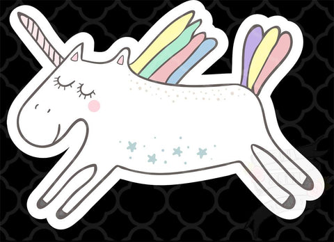 Alden Unicorn Decal