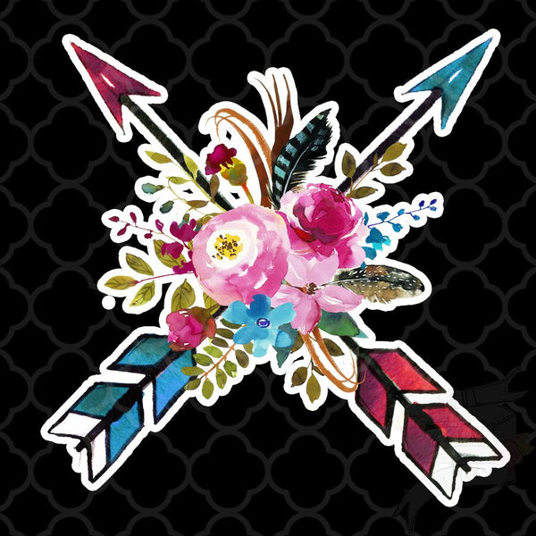 Boho Chic Arrow Decal