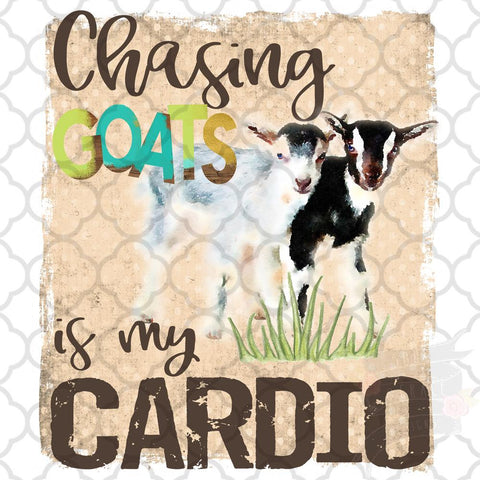Chasing Goats is my Cardio