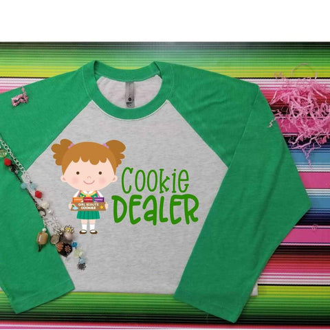 Cookie Dealer girl scout Child tshirt