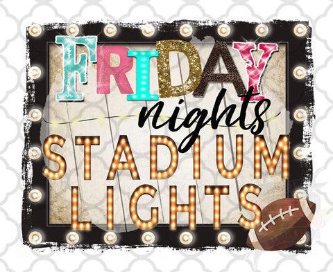 Friday Nights and Stadium Lights