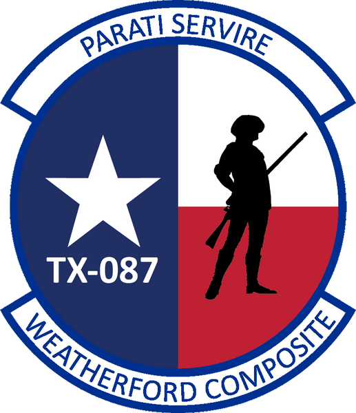 Weatherford Composite CAP Squadron Embroidered Patch