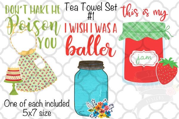 Tea Towel Set #1