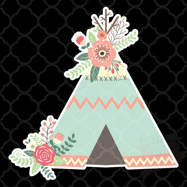 Teepee Decal