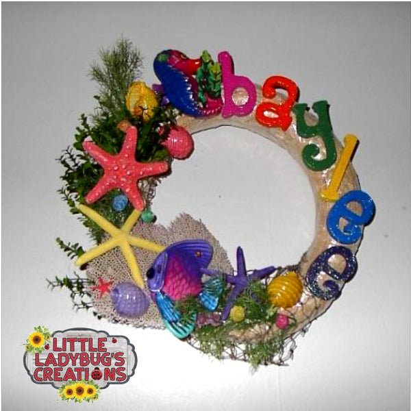 Custom Baby Wreaths