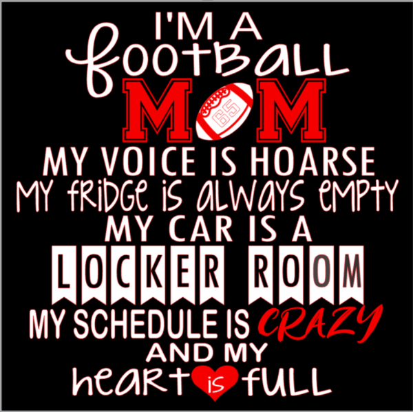I'm a Football Mom SVG