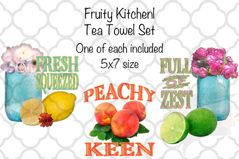 Fruity Kitchen Tea Towel Set