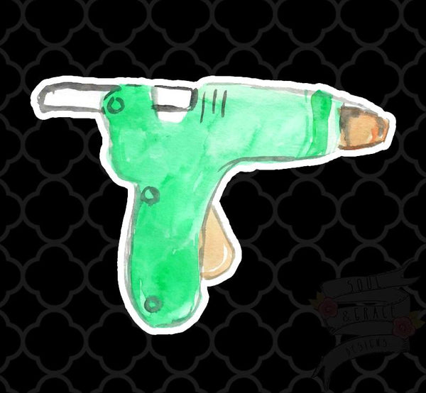 Glue Gun Decal