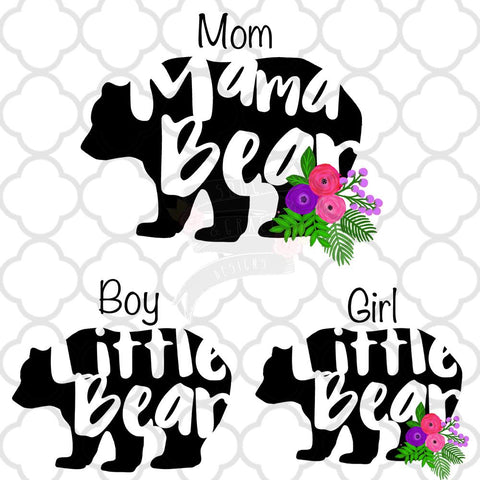 Mama Bear Little Bear