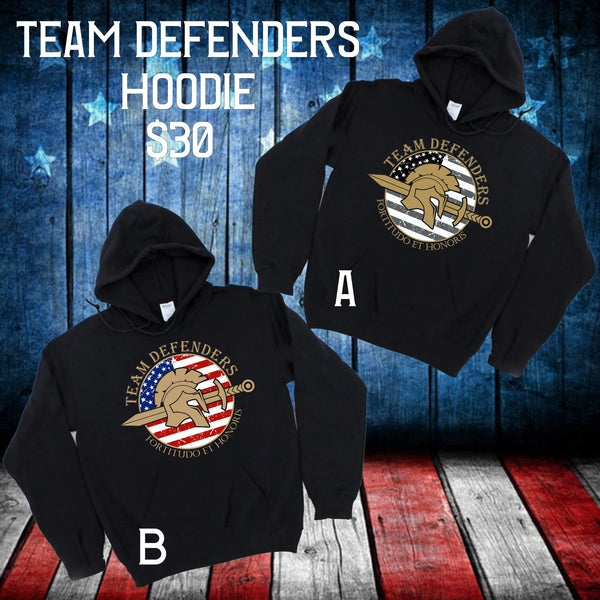 Team Defenders Carry The Load Hoodie