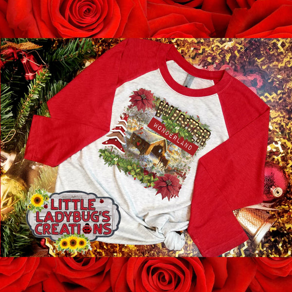 Winter Wonderland Sublimation Transfer