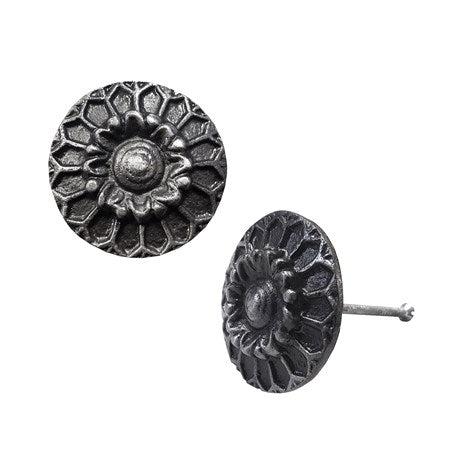 Cast Iron Sunflower Knob