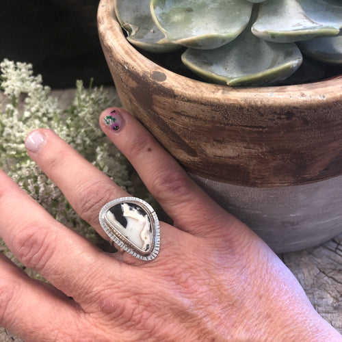 White Buffalo Ring
